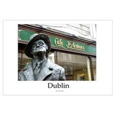 James Joyce Statue (Dublin) Canvas Art