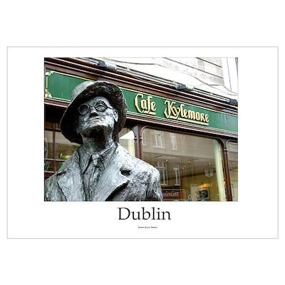 James Joyce Statue (Dublin) Poster