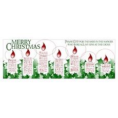 softly evangelistic christmas Poster