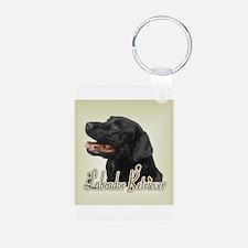 Black Labrador Retriever Keychains