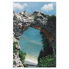 Arch Rock Poster