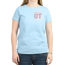 Team OT (purple) - Women's Pink T-Shirt