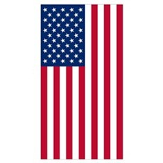 American Flag Patriot Poster