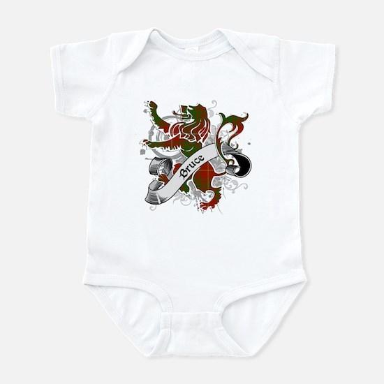 Bruce Tartan Lion Infant Bodysuit
