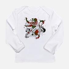 Bruce Tartan Lion Long Sleeve Infant T-Shirt