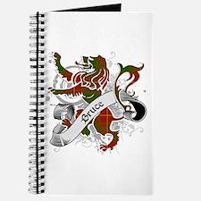 Bruce Tartan Lion Journal