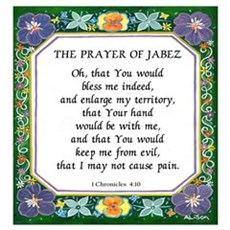 2 Prayers: Prayer of Jabez a Canvas Art