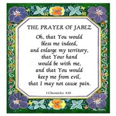 2 Prayers: Prayer of Jabez a Poster