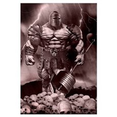 IRON WARRIOR Framed Print