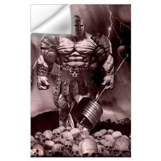 IRON WARRIOR Wall Decal