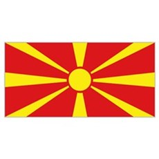 Macedonian flag Poster