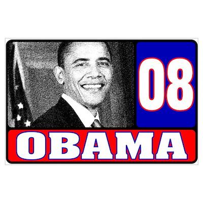 USA for Obama 2008 Poster