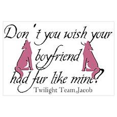 Twilight Furry Boyfriend Poster