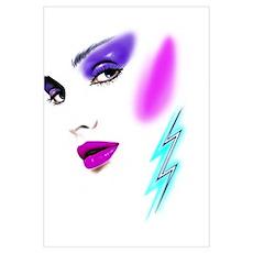 Face & Earring Poster