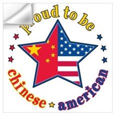 /Chinese American Wall Decal