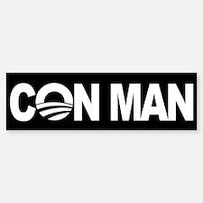 Obama the Con Man - Bumper Bumper Sticker