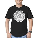 Doily Men's Fitted T-Shirt (dark)