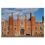 Hampton court palace framed pictures Wrapped Canvas Art