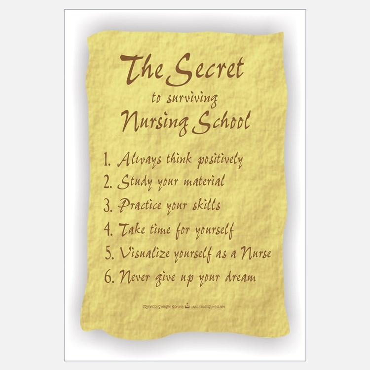The Secret to Nursing School