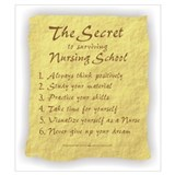 Nursing student Wrapped Canvas Art