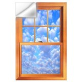 Fake window Wall Decals