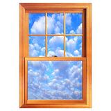 Fake window Wall Art