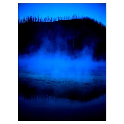 Thermal Yellowstone Framed Print