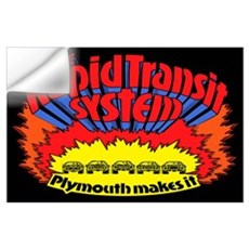Rapid Transit System - Plymouth Wall Decal