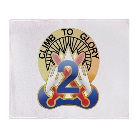New Section10th Mountain - 2n Throw Blanket