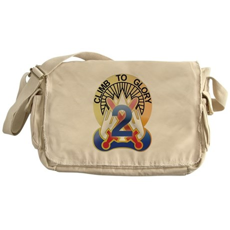 New Section10th Mountain - 2n Messenger Bag
