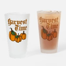 Harvest Time Drinking Glass
