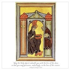 Hildegard of Bingen Poster