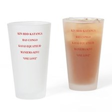 Provinces Drinking Glass