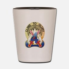 New Sec10th Mountain - 4Th Co Shot Glass