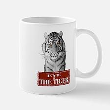 Eye of the Tiger White Mug