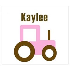 Kaylee - Pink Tractor Poster