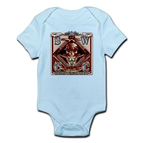 USN SWCC Metal Fast Boats Sku Infant Bodysuit