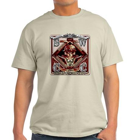 USN SWCC Metal Fast Boats Sku Light T-Shirt