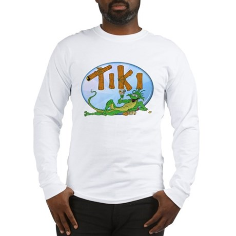 TIKI Lizard Long Sleeve T-Shirt