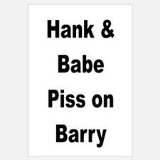 Hank and Babe Piss on Barry