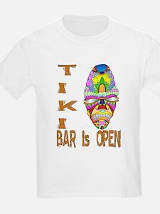 Tiki Bar is Open Mask T-Shirt