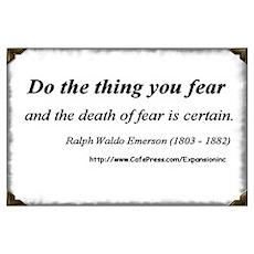(No Fear - Emerson - A) Poster