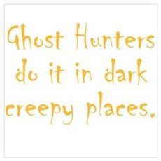 Ghost Hunters Do It Framed Print