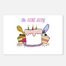 The Cake lady Postcards (Package of 8)