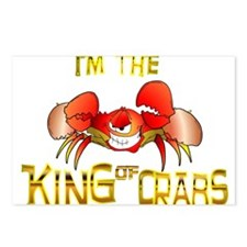 I AM the King of CRABS Postcards (Package of 8)