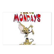 I Hate Mondays!! Postcards (Package of 8)