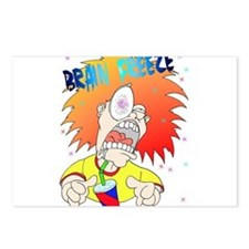 Brain Freeze! Postcards (Package of 8)