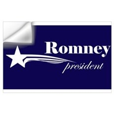 Mitt Romney president Wall Decal
