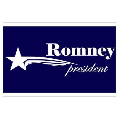 Mitt Romney president Poster