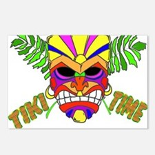 TIKI TIME Postcards (Package of 8)